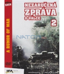 Nezaručená zpráva o válce 2 (A Rumor of War) DVD