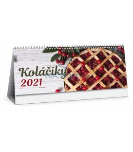 Stolový kalendár Koláčiky 2021
