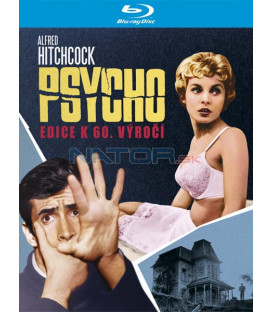 Psycho: Edice k 60. výročí 1960 (Psycho 60th Anniversary) Blu-ray