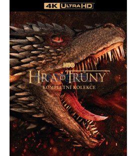 Hra o trůny kolekce 1.-8. série (30Blu-ray UHD + 3BD bonus disk) (Game Of Thrones S1-S8 4K UHD Complete Collection)