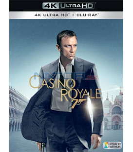 Casino Royale 2006 (Casino Royale) (4K Ultra HD) - UHD Blu-ray + Blu-ray