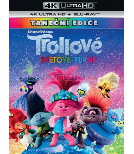 Trollovia 2:Svetové turné 2020 (Trolls World Tour) (4K Ultra HD) - UHD Blu-ray + Blu-ray