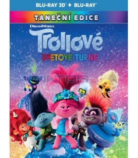 Trollovia 2:Svetové turné 2020 (Trolls World Tour) 3D + 2D Blu-ray