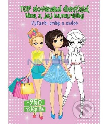 Top slovenské dievčatá Nina a jej kamarátky