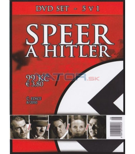 Speer a Hitler SET 5xDVD (Speer and Hitler: The Devil´s Architect) DVD