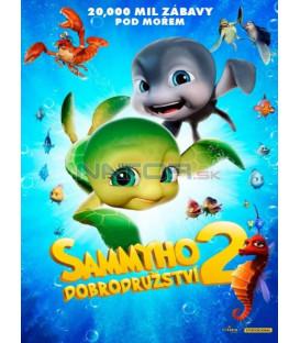 Sammyho dobrodružství 2  CZ/SK dabing (Sammys Adventures 2) DVD