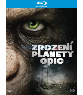 Zrození Planety opic 2011 (Rise of the Planet of the Apes) Blu-ray