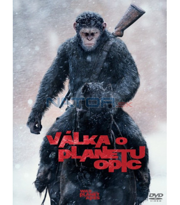 VÁLKA O PLANETU OPIC (War for the Planet of the Apes) DVD