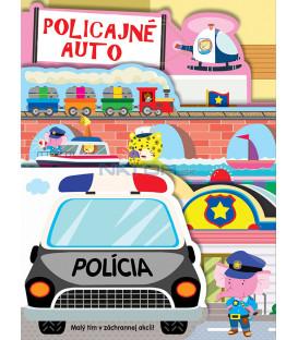 Policajné auto – leporelo
