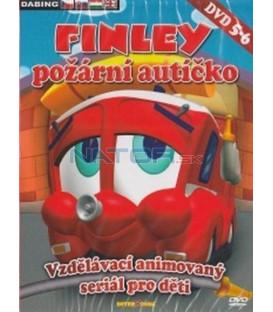 FINLEY požární autíčko - DVD 5 - 6 (FINLEY, the Fire Engine) 2XDVD
