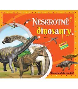 Neskrotné dinosaury (3D leporelo)
