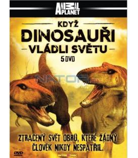 Když dinosauři vládli světu - 5XDVD (When Dinosaurs Ruled) DVD
