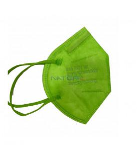 Respirátor FFP2 NR MZ Manreally - Svetlo zelený BALENIE 2 KS