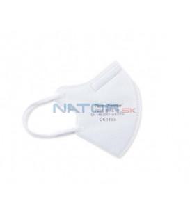 Detský respirátor FFP2 Biely BALENIE 3 KS