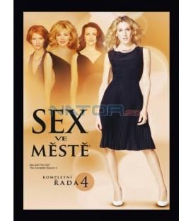Sex ve městě - kompletní 4. série 3 DVD - CZ dabing (Sex And The City - Season 4 )