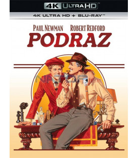 Podraz (The Sting) (4K Ultra HD) - UHD Blu-ray + Blu-ray