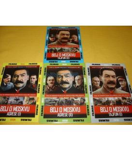 Kolekce boj o moskvu 1+2+3+4 DVD