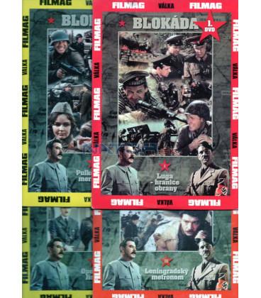 Kolekce  Blokáda - I.+II.+III.+IV. DVD