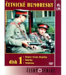 Četnické humoresky 1. DVD- díly 1-3