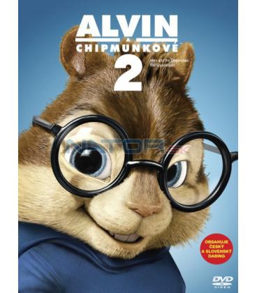 Alvin a Chipmunkové 2 (Alvin and the Chipmunks: The Squeakquel) Big Face DVD