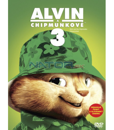 Alvin a Chipmunkové 3 (Alvin and the Chipmunks: Chip-Wrecked) Big Face DVD