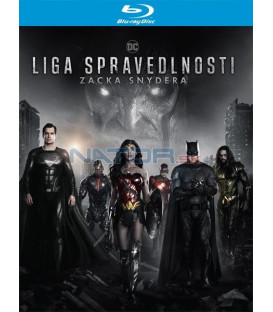 Liga spravedlnosti Zacka Snydera 2021 (Zack Snyders Justice League) Blu-ray