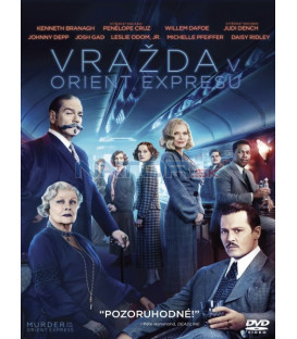 VRAŽDA V ORIENT EXPRESSU 2017 (Murder on the Orient Express) DVD