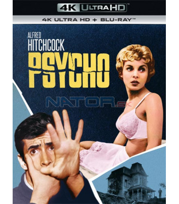 Psycho (The Birds) (4K Ultra HD) - UHD Blu-ray + Blu-ray