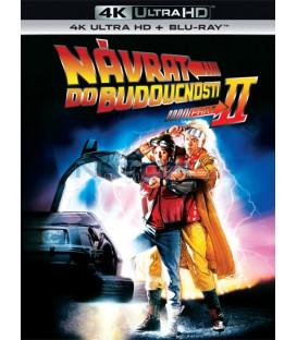 Návrat do budoucnosti II 1989 (Back to the Future) remasterovaná verze (4K Ultra HD) - UHD Blu-ray + Blu-ray