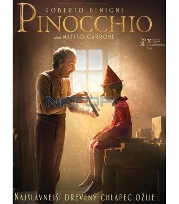 Pinocchio 2019 DVD