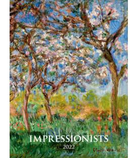 Nástenný Kalendár Impresionists 2022