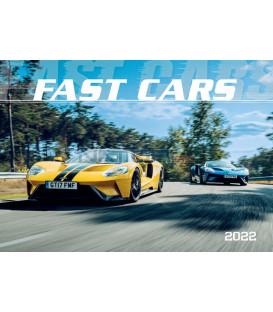 Nástenný Kalendár Fast Cars 2022