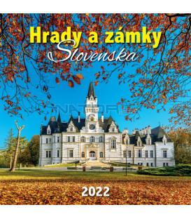 Nástenný Kalendár Hrady A Zámky Slovenska 2022