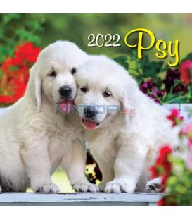 Nástenný Kalendár Psy 2022