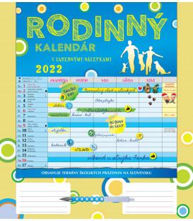Nástenný Kalendár Rodinný 2022
