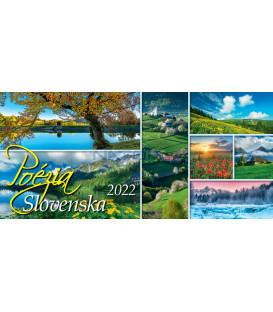 Stolový Kalendár Poézia Slovenska 2022