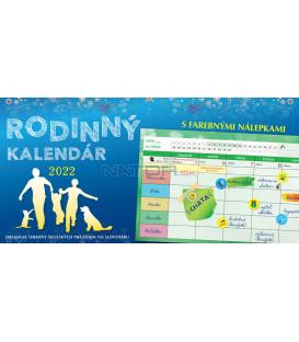 Stolový Kalendár Rodinný 2022