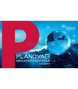 Stolový Kalendár Plánovací Mesačný 2022