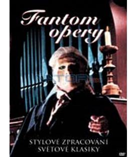 Fantom opery (Phantom of the Opera) - DVD SLIM BOX