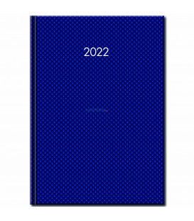 Denný Diár A4 Jumbo Modrý 2022
