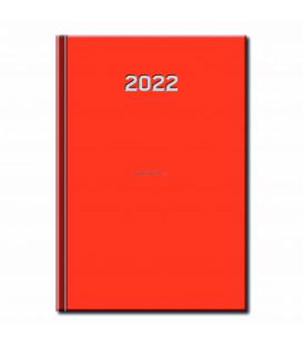Denný Diár Primavera Oranžový 2022