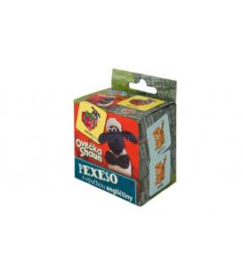 Pexeso Ovečka Shaun SK s výučbou angličtiny 36 kartičiek v krabičke