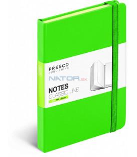 Notes Tucson zelený 15 x 21 cm