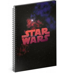 Špirálový blok Star Wars – Galaxy čistý A4