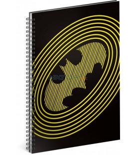 Špirálový blok Batman – Circles linajkovaný A5