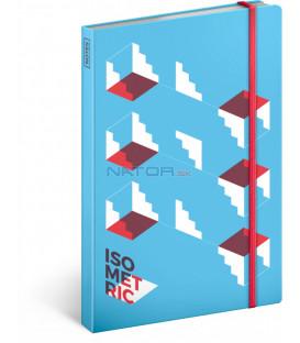 Notes Isometric čistý 13 × 21 cm