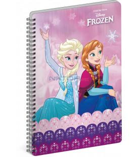 Špirálový blok Frozen – Ľadové kráľovstvo Joy A5 čistý
