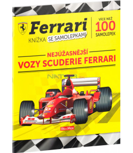 FERRARI autá Scuderie – Kniha samolepiek