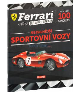 FERRARI športové autá – Kniha samolepiek