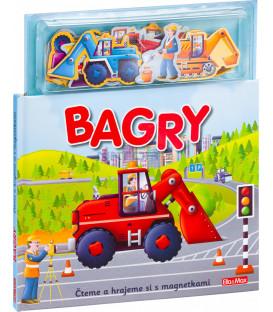 BAGRY ─ Knížka s magnetkami